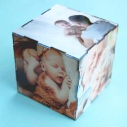Foto-Cubo de metacrilato