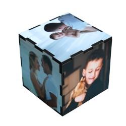 Foto-Cubo de madera