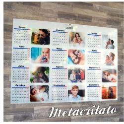 Calendario de pared...